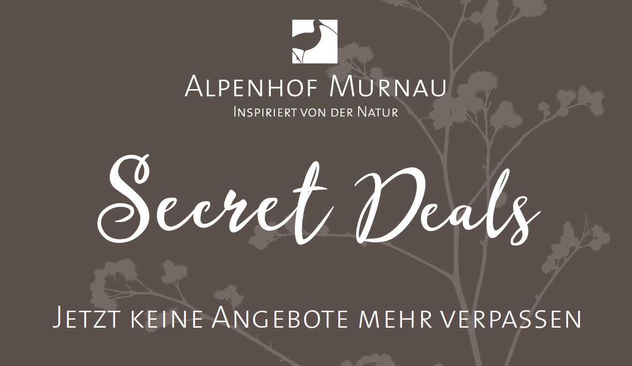 Secret Deals Teaser Alpenhof Murnau